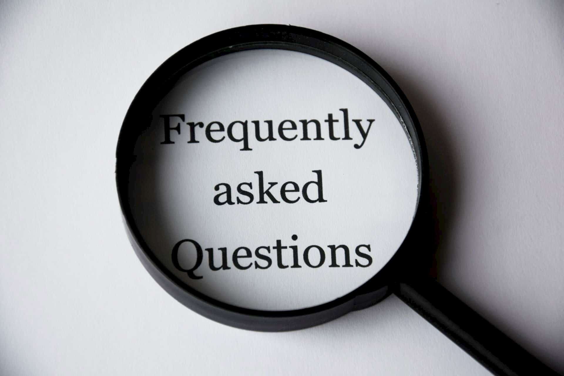 Frequently Asked Questions (FAQs) for business