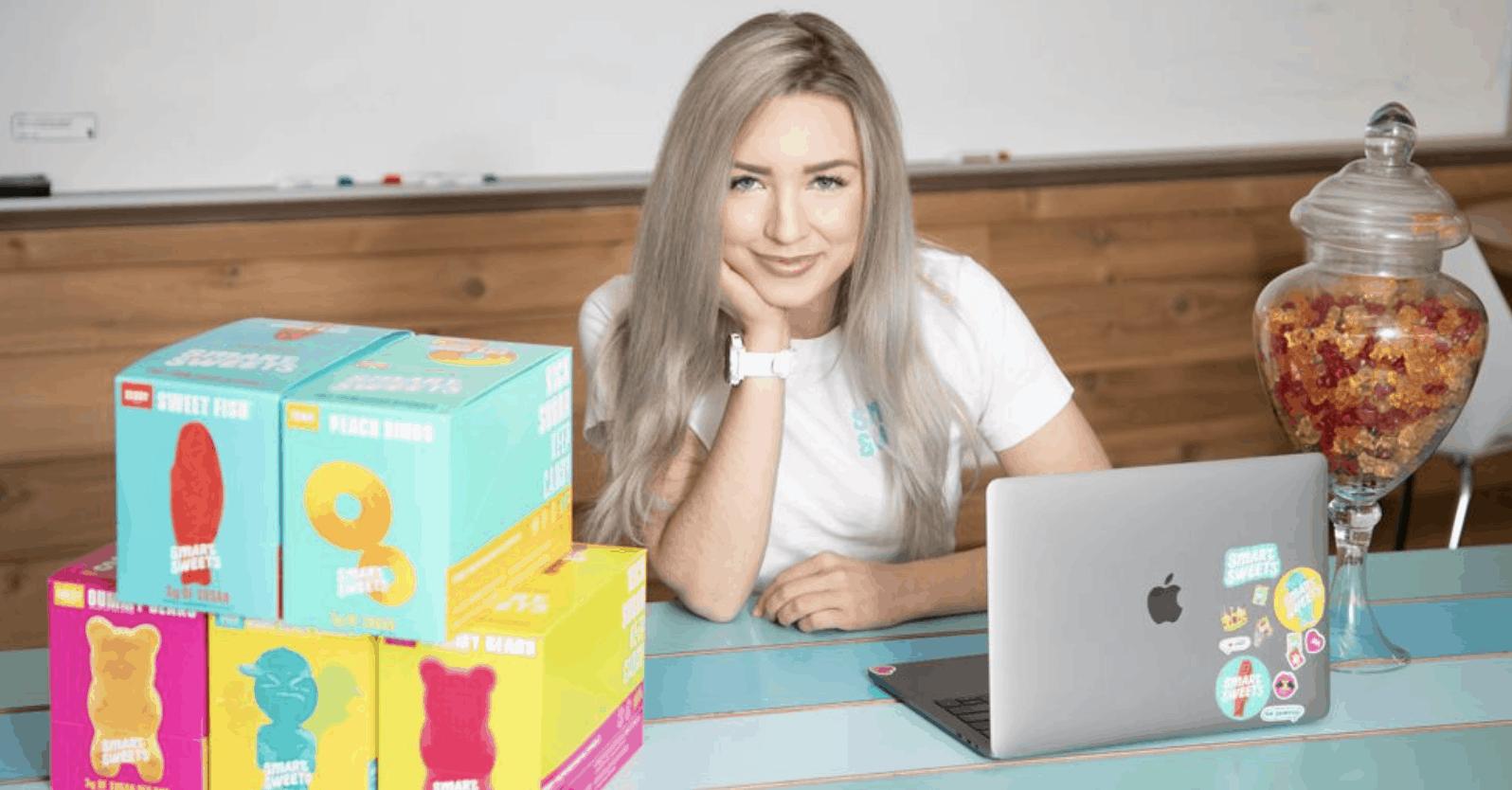 Tara Bosch, Founder of SmartSweets