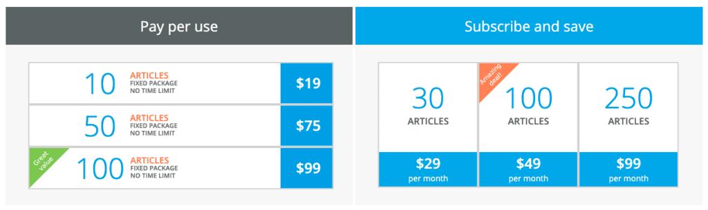 content generator articoolo price