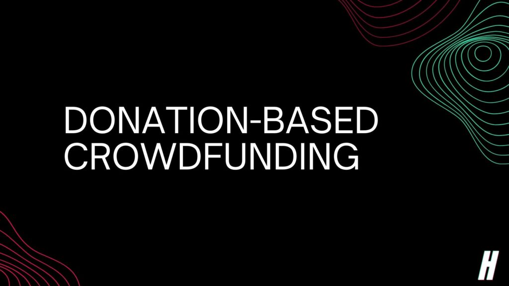 donation-based crowdfunding