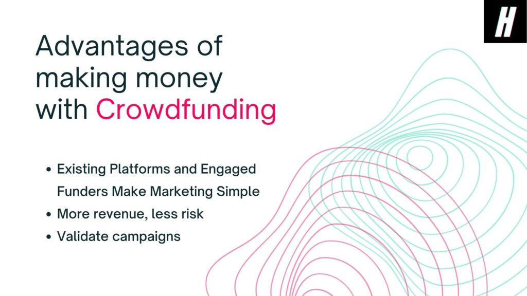 make money with crowdfunding